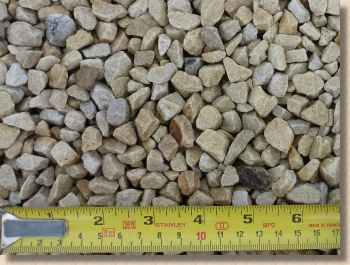 10mm abgular crushed gravel