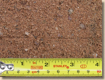quarried grit sand
