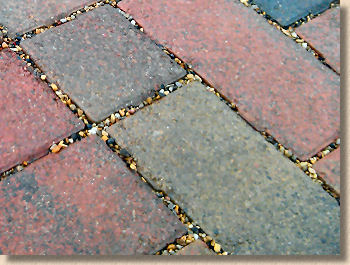 grit jointing for permeable paving