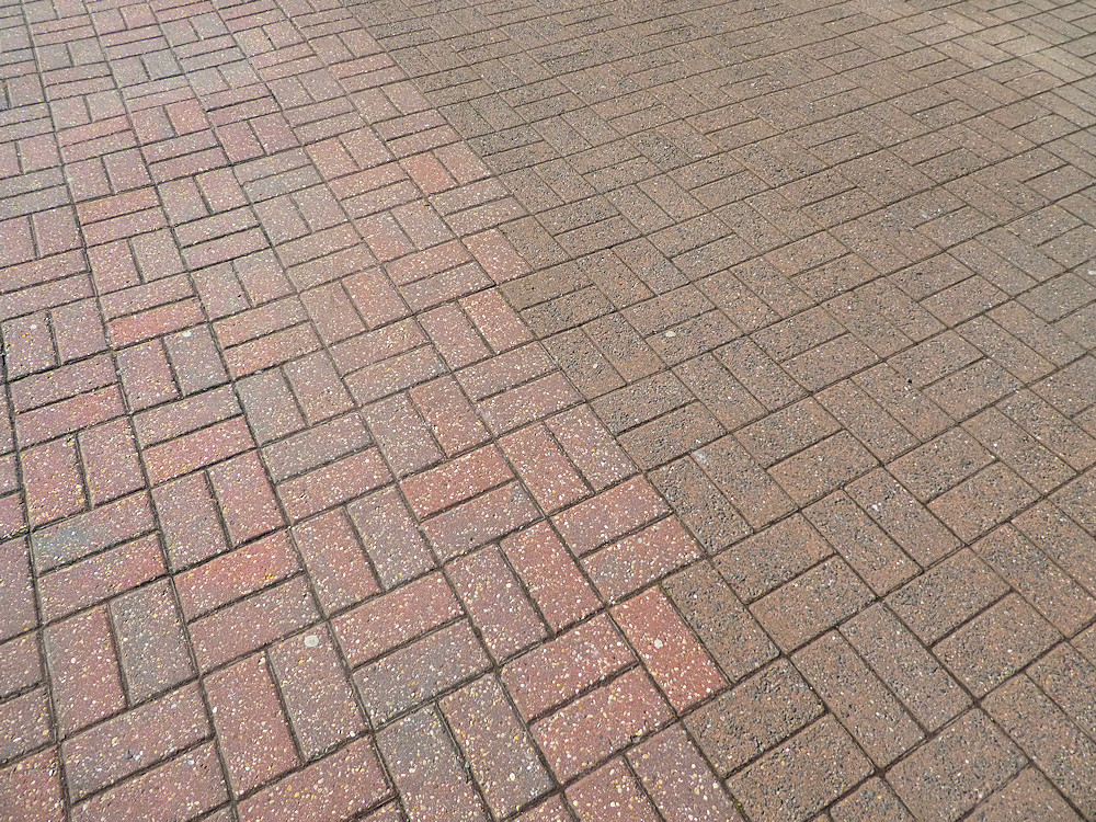 mis-matched paving