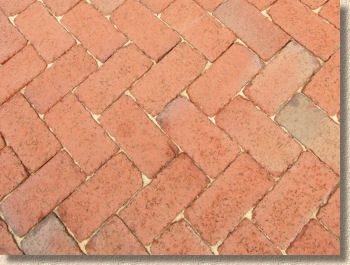 tumbled clay pavers