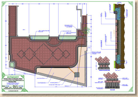 block paving plan