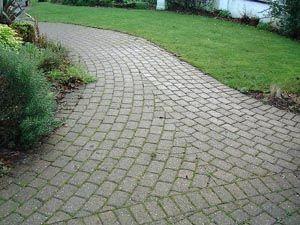 Curved Garden Path .
