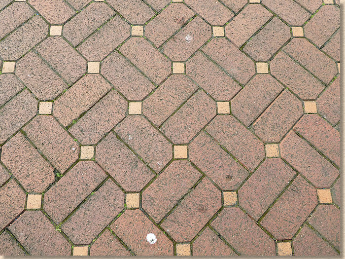 cabuchon effect clay pavers