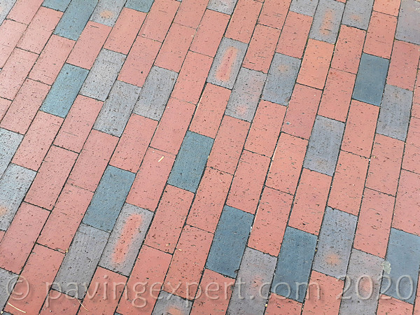 Red mix clay pavers