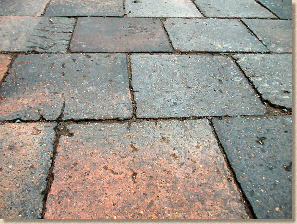southport pavers close up