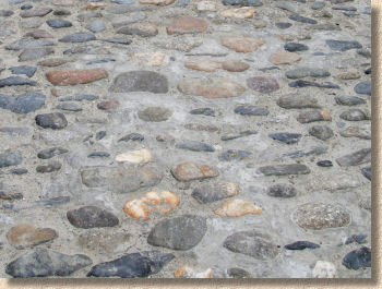 badly laid cobbles