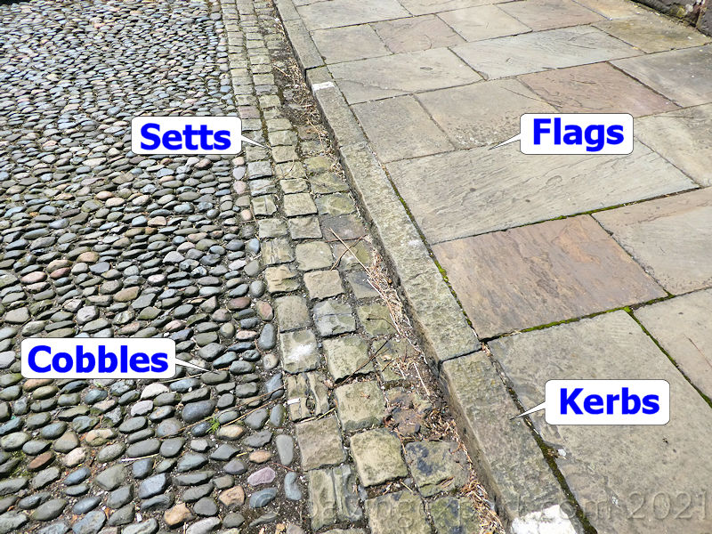 cobbles and setts definitions