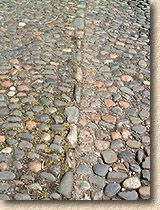 cobbles with kerbstone