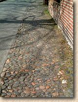 cobbles with tarmac