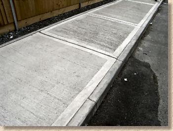 Concrete Pathway In Sligo