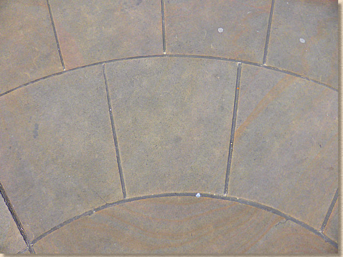 ring radius in yorkstone with capstone origin