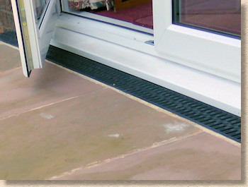 Linear Channel At Doorway Threshold