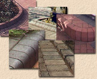 block paving kerbs