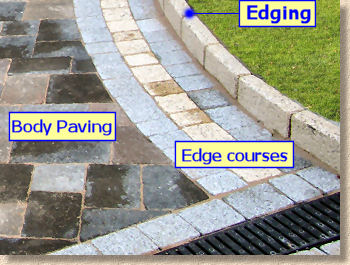edgings and edge courses