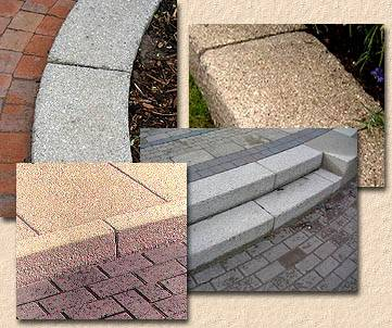 textured kerbs