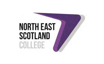 North East Scotland College logo