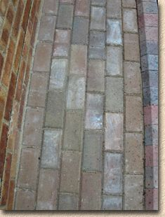 efflorescence affecting block pavers