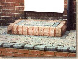 Front Door Step paving expert - aj mccormack and son - hard landscape features - steps