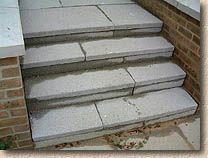 Argent Paving Steps