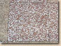 exposed aggregate flags