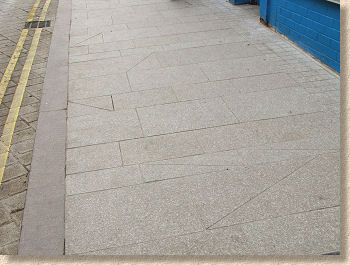 completed pavement