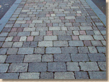 Broken Bond Block Paving