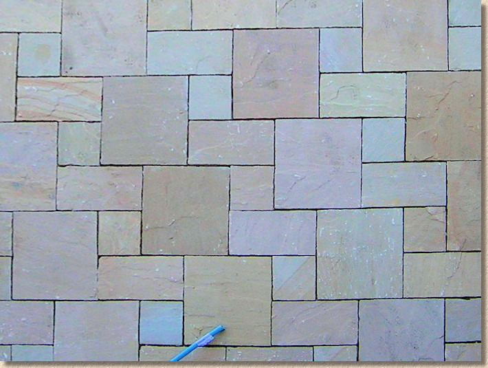 tudor pattern indian sandstone