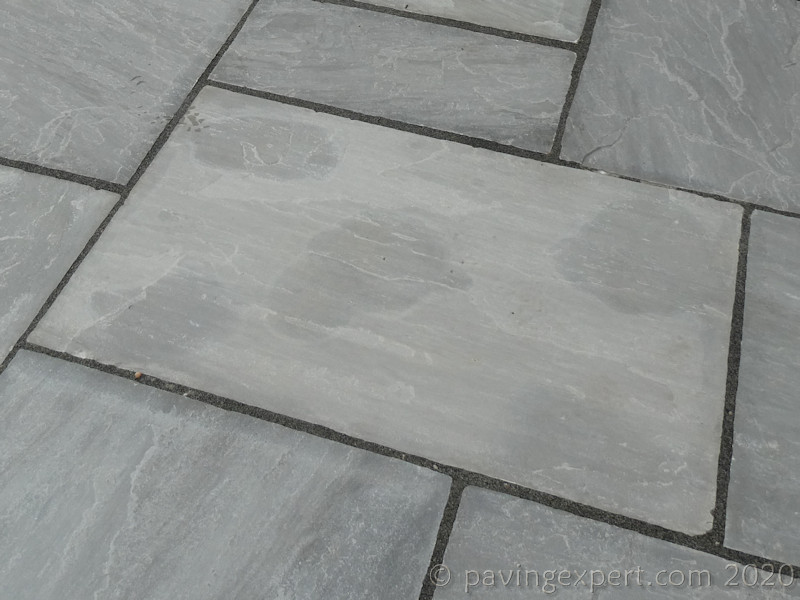 spot bedded kandla grey indian sandstone