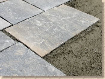 Pavingexpert laying stone paving riven flagstone workwithnaturefo