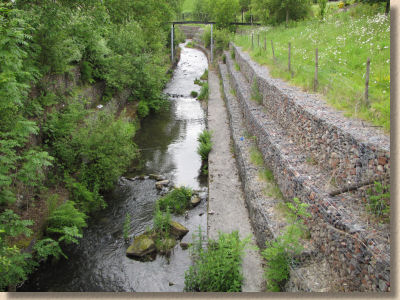 gabion reinforced river bank