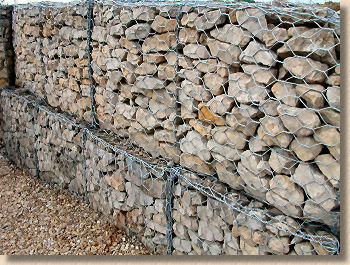 twisted wire gabion