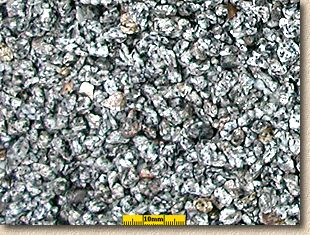 10mm silver grey granite