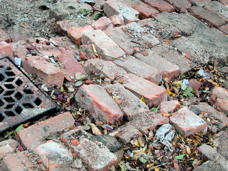 bricks as sub-base