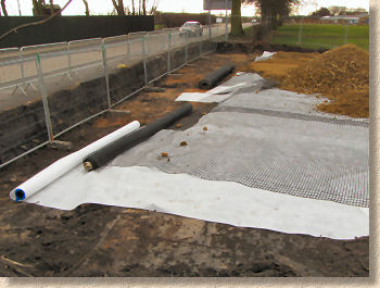 geotextile and geogrid