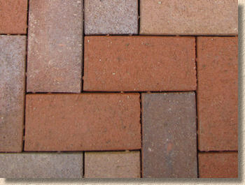 close jointed clay pavers