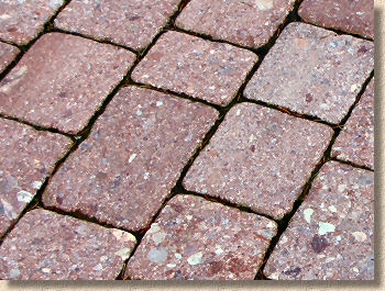 close joints with granite setts