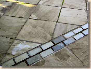 The Mortar Quality Is Incredibly Variable, Ranging From Awful To  Hard As Iron, But The Only Solution Is To Remove It And Redo The Whole Patio