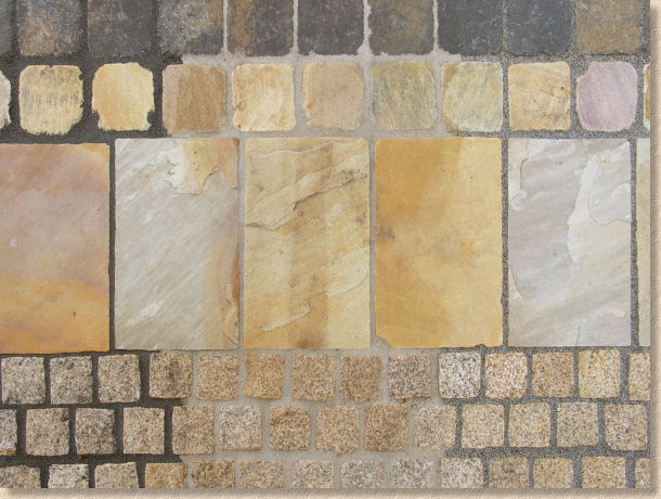 Jointing And Pointing For Stone Paving
