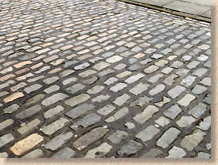 pitch jointed granite setts