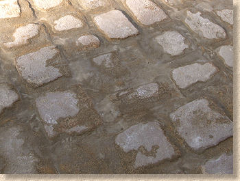 wet grouted setts