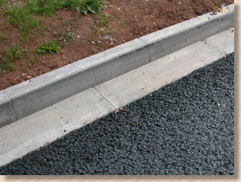 channel and kerb