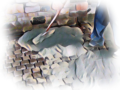 Jointing and Pointing for Stone Paving - Wet Grouting Logo