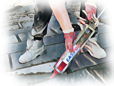 Jointing and Pointing for Stone Paving - Gun Injection Pointing Logo