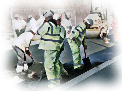 The Various Types of Paving Contractor Logo