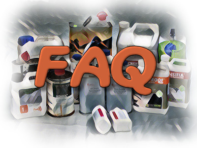 FAQ - Recommend a Paving Sealant Logo