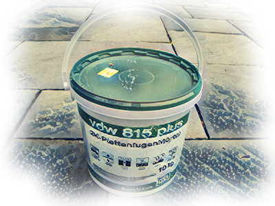 Resin Mortars - VDW 815+ for narrow joints - NCC StreetScape Logo
