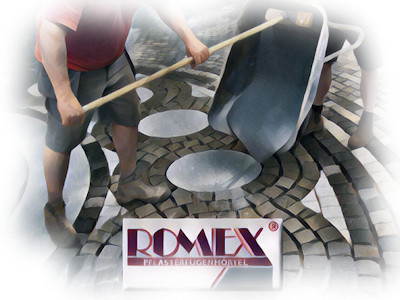 Rompox Resin Jointing Mortars for Paving Logo