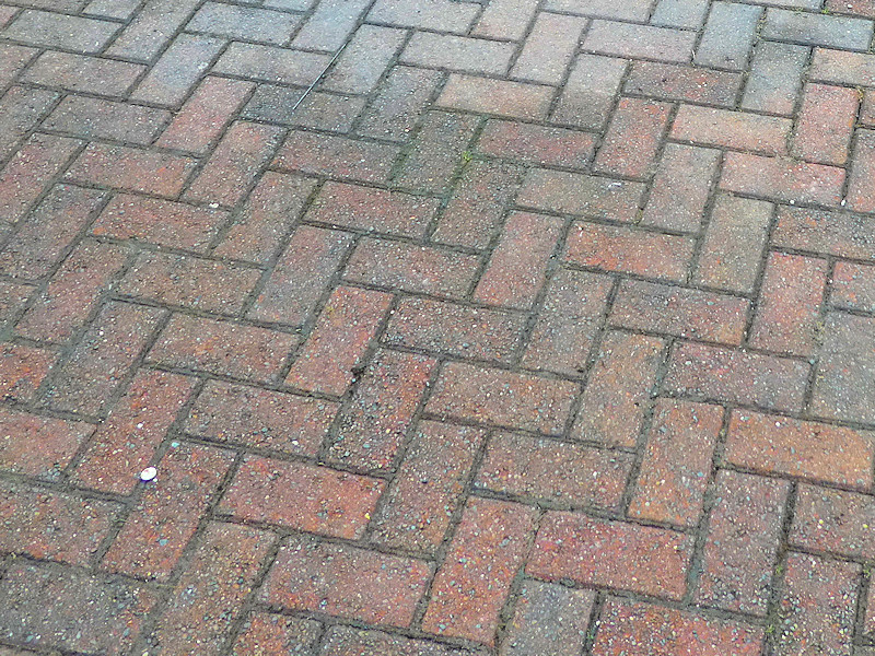 block paving after treatment