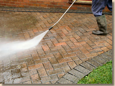 How to clean concrete patio with pressure washer modern for Pressure wash concrete patio